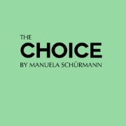 Logo: Manuela Schürmann - The Choice