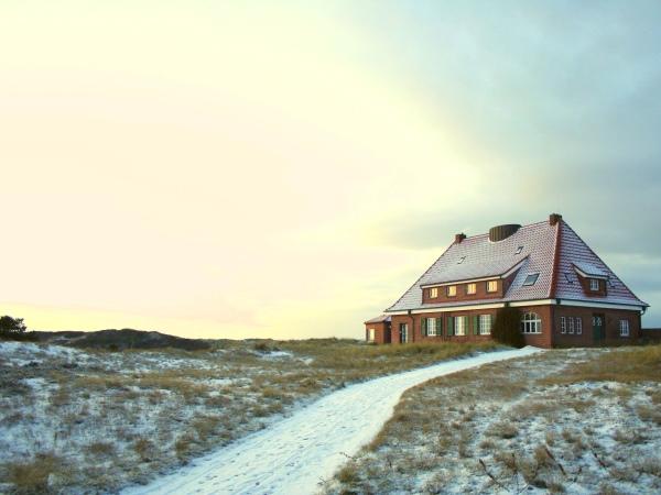 Gästehaus Klasing im Schnee